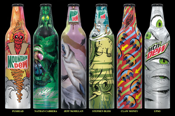 Mt Dew Bottles