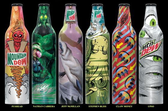 Mt Dew Bottles