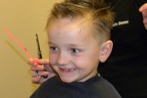 kid hair cut